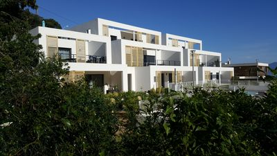 Photo for Seaside, new T4, 3 bedrooms, terrace, pool