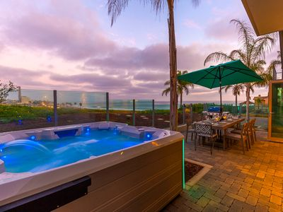 Photo for 25% OFF MAY - Unobstructed Ocean Views, Jacuzzi + Rooftop Deck