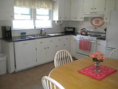 Beautifully updated eat-in kitchen