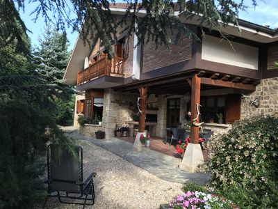 Photo for Modern farmhouse in the heart of Gorbea, excellent location. For 8 to 12