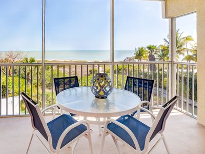 Photo for Enjoy the Gulf Views from this totally remodeled three bedroom condo !
