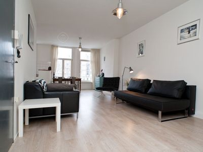 Photo for Contemporary one bedroom apartment, that can accommodate four guests, located in the Jordaan area in