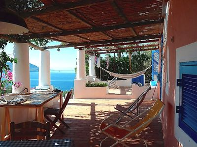 Photo for Top romantic dream house with lovely terrace and large garden with sea views