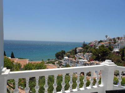 Photo for Exclusive apartment with beautiful sea views in Nerja / Ladera del Mar
