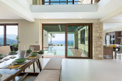 Amazing view from every corner of the villa