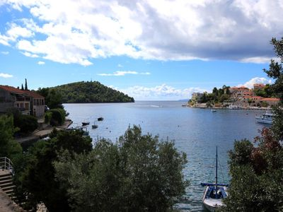 Photo for Two bedroom apartment near beach Brna (Korčula) (A-4425-a)