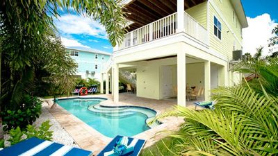 Photo for Lime Kiss A! 3 Bedroom, 2 Bathroom Home Just Across The Street From The Beach!