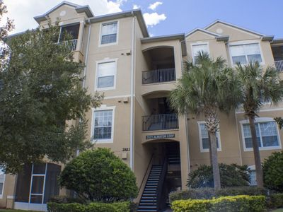 Photo for Man Gated Community - Elevator - Free Wifi - Heated Jacuzzi & Pool - 15 Minutes to Disney