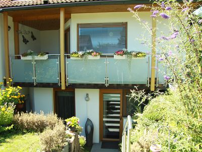 Photo for Living in the health resort above Lake Constance (Heiligenberg)