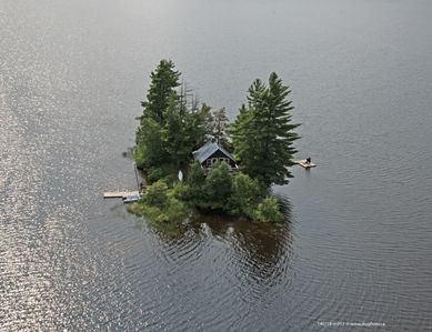 Photo for Private Island Retreat - Couples Only - On Kawawaymog Lake near Algonquin Park