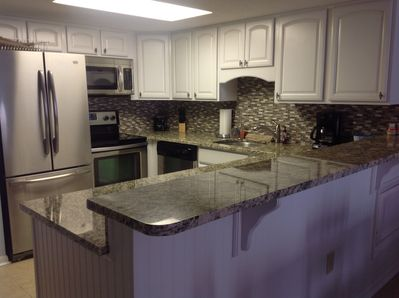 All New kitchen with Stainless Steel appliances and Granite countertops.