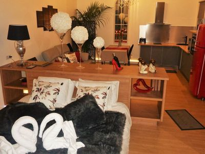 Photo for bed and breakfast for 2 with private spa and sauna