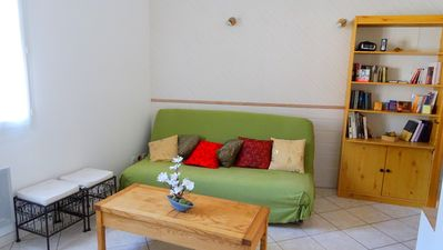 Photo for Cottage 40m ² quiet, full campaign 35 minutes from Lyon