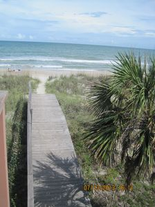 Your pathway to the beach...50 feet from your front door at 4701