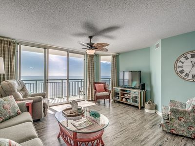Photo for Upscale Clean Beachfront Condo, Lazy River, BBQ Grill | Windy Hill Dunes - 1503