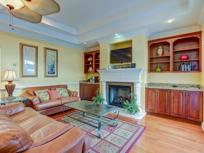 Photo for Pool,garage,walk one block to beach,spacious and roomy for family and firends