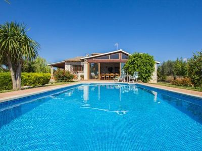 Photo for Finca holidays with private pool and beautiful garden to the north