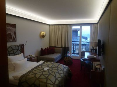 Photo for Single Room with Balcony - Romantic Hotel White Horse Inn