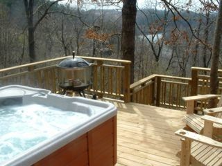 Deck, Hot Tub & River View