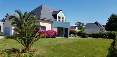 Photo for Holiday house, 10 pers, 500m from the sea with garden & terrace, ERQUY