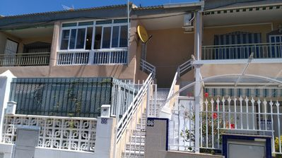 Photo for Bright two bedroom apartment 400m from the beach, WiFi, Air conditioning