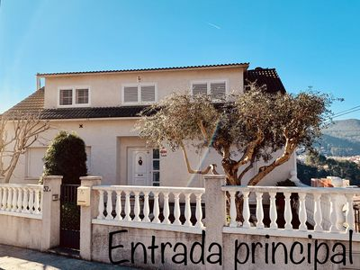 Photo for House in Vallirana (17 Km from Barcelona) with stunning mountain views