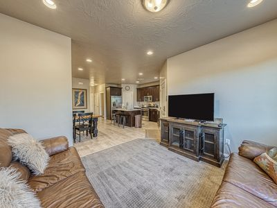 Photo for Modern townhome w/shared pool and hot tub, near parks and trails!