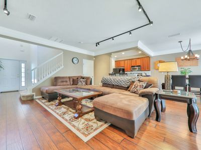 Photo for Spacious townhome w/ gas fireplace, furnished patio, shared pool, & fitness room