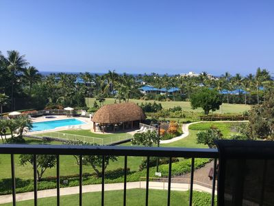 Photo for Keauhou with gorgeous oceanview and on the 8th hole of Kona Country Club fairway