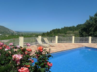 Photo for Stunning private villa for 6 guests with private pool, A/C, WIFI, TV and parking