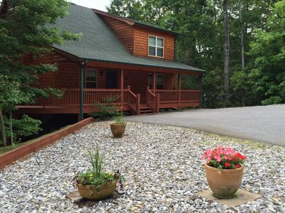 Photo for 2BR Cabin Vacation Rental in Blairsville, Georgia