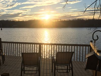 Photo for Lakefront Paradise Getaway - BETTER TO WAKE AT THE LAKE  2