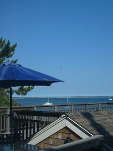 You can't get much closer to Cape Cod Bay. Easy private access to the beach.