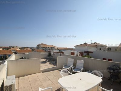 Photo for T3, nice terrace, in residence with swimming pool.