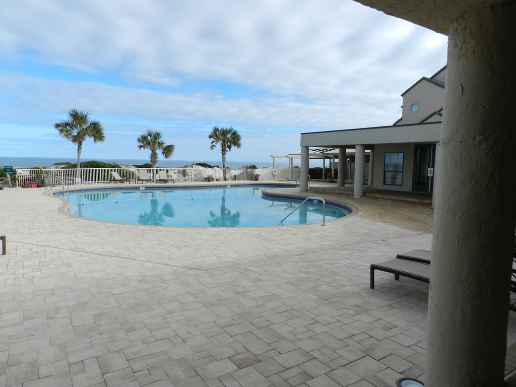 Renovated Ocean Front 2 Story Condo Access To Amelia Island Golf Beach Club