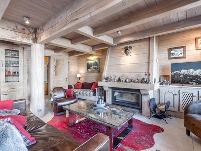 Photo for 4* chalet, heart of the village, cozy style, spa, garage, Wi-Fi access