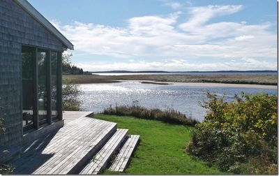 Photo for Spectacular views of beach from this waterfront cottage