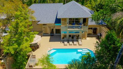Photo for 30 North Forest Beach Drive - 4th Row Ocean with *Heated Pool