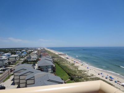 Photo for Gorgeous Oceanfront Penthouse with Panoramic Views of Pleasure Island! Pools, Spa, Elevators