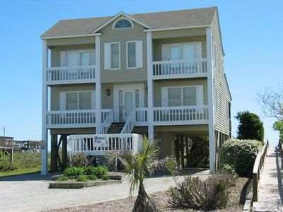 Photo for Oceanfront with lots of extras!