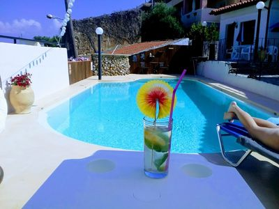 Photo for Holiday apartment with swimmingpool, AC and spectacular view.