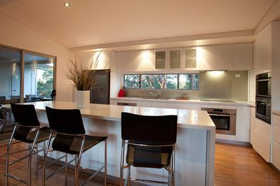 Entertainers kitchen and bench worktop
