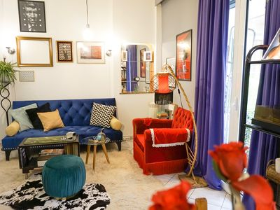 Photo for Downtown Cinematic Apt. in Athens