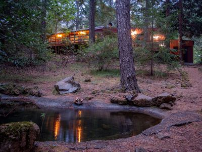 Photo for Ahhh...The Cabin Just A 10 Minute Walk To The Pristine Smith River!