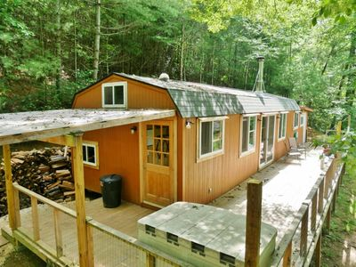 Photo for Tree-Top Tiny House with Deck