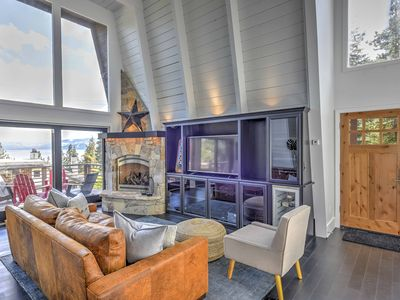 Photo for Renovated Tahoe City Home in Dollar Point w/ Deck!