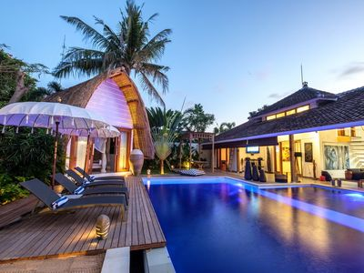 Photo for Buddha, 5 Bedroom Villa, Feature Pool, Central Seminyak