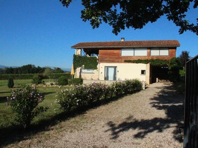 Photo for Holiday house with stunning views of the Pyrenees