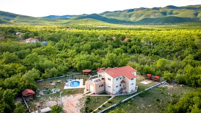 Photo for Nature hidden 4*Villa with pool, 18 km from Split, for families/groups up to 9