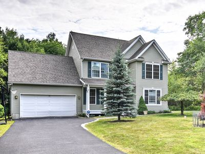 Photo for Quiet Long Pond Home w/Yard & Community Pool+Lake!